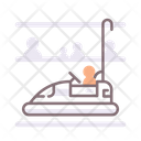 Bumper Cars Bumper Car Amusement Park Icon