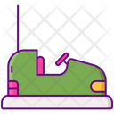 Bumper Cars Amusemet Park Bumper Car Icon