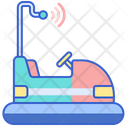 Bumper Cars Bumper Car Icon