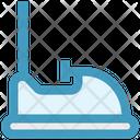 Bumping Car Dodgems Bumper Card Icon