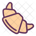Bun Bakery Croissant Icon