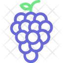 Bunch Of Grapes Fruit Grapes Icon