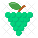Fruit Grapes Bunch Of Grapes Icon