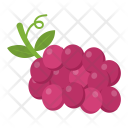Bunch Grapes Fruit Icon
