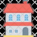 Bungalow Building Apartments Icon