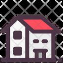 Bungalow Cottage Building Icon
