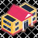 Lodge Bungalow House Icon