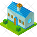 Bungalow Small Country Icon