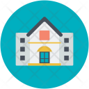 Bungalow House Home Icon