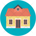 Bungalow Home House Icon