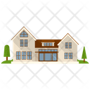 Bungalow Building Icon