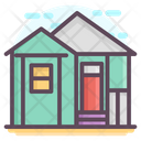 Bungalow Residential Building Icon