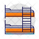 Bunk Bed Furniture Home Icon