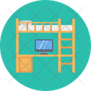 Bunk Bed Table Icon