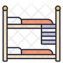 Bunk Bed Bunkbed Bed Icon