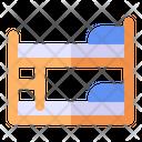 Bunk Bed Bunk Bed Icon