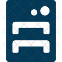 Bed Bunk Furniture Icon