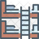 Bed Bunkbed Furniture Icon
