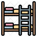 Bunkbed Bed Hotel Icon