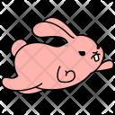 Bunny Super Hero Icon