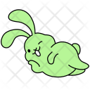 Bunny Wink Easter Icon