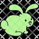 Bunny Back Rabbit Icon