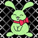 Bunny Bow Rabbit Icon