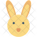 Bunny Face Animal Icon