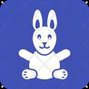 Bunny Animal Toy Icon