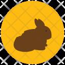 Chocolate Bunny Icon