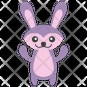 Bunny Rabbit Pet Animal Icon