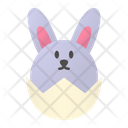 Easter Bunny Rabbit Icon