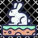 Bunny Spring Plant Icon