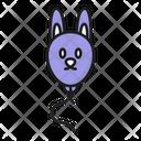 Bunny Balloon Icon