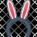 Bunny Ear Band Bunny Band Headband Icon