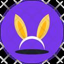 Bunny Ears Rabbit Ears Bunny Headband Icon