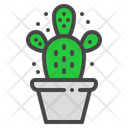 Bunny Ears Cactus Icon