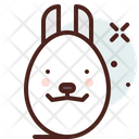 Bunny Egg Egg Bunny Egg Icon