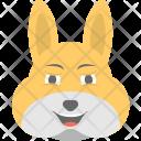 Bunny Emoji Icon