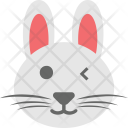Bunny Emoji Face Icon