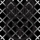 Bunny Face Rabbit Icon
