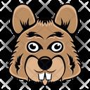Bunny Mascot Bunny Face Rabbit Face Icon