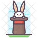 Bunny Hat Magic Rabbit Hat Icon