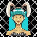 Bunny Hat Girl Icon