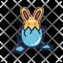 Bunny Hatching Bunny Hatching Icon