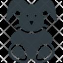 Bunny Plush Toy Icon