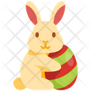 Bunny With Egg Icon