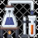 Bunsen Burner Healthcare And Medical Flasks Icon
