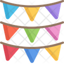 Bunting Icon
