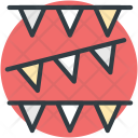 Buntings Garland Pennants Icon